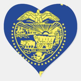 Oregon Heart Sticker