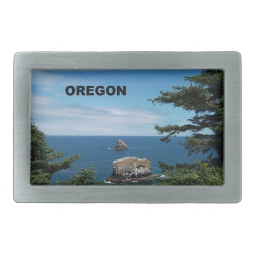 Oregon Hebillas Cinturón Rectangulares