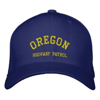 OREGON, HIGHWAY PATROL EMBROIDERED BASEBALL HAT
