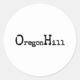 Oregon Hill, Richmond, VA Sticker