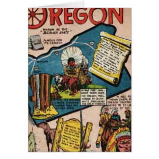 Oregon History Card