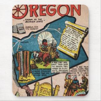 Oregon History Mouse Pad