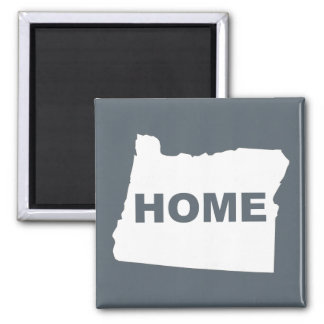 Oregon Home Away From State Fridge Magnet