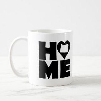 Oregon Home Heart State Mug or Travel Mug