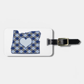 Oregon Home is Where the Heart is Luggage Tag