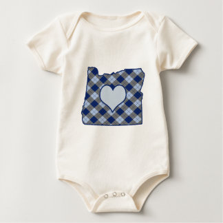 Oregon Home is Where the Heart is Romper