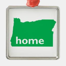 Oregon Home Metal Ornament