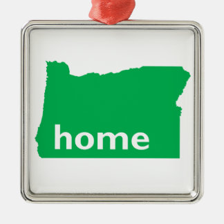 Oregon Home Metal Ornament