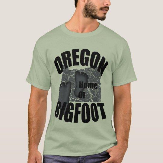 Oregon Home of Bigfoot T-shirt