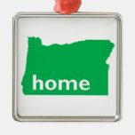 Oregon Home Ornament