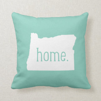 Oregon Home State Throw Pillow