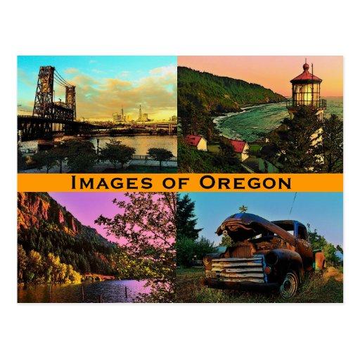 Oregon Images Postcard