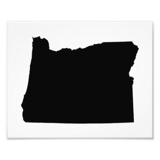 Oregon in Black and White Photo Print