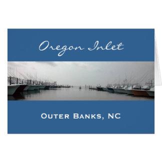 Oregon Inlet Card
