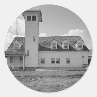 Oregon Inlet lighthouse Classic Round Sticker