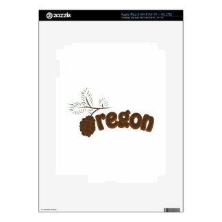 Oregon iPad 3 Decals