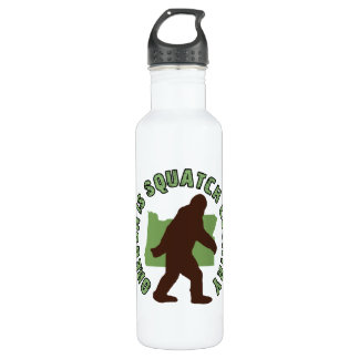 Oregon Is Squatch Country Water Bottle