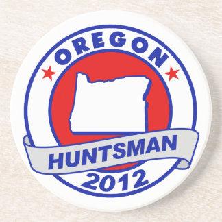 Oregon Jon Huntsman Beverage Coaster