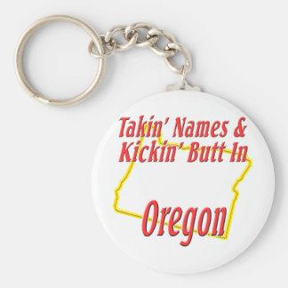 Oregon - Kickin' Butt Keychain