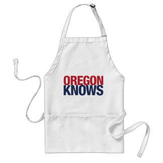 Oregon Knows Adult Apron