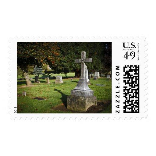 Oregon, lago Oswego, cementerio pionero 2 de Sellos