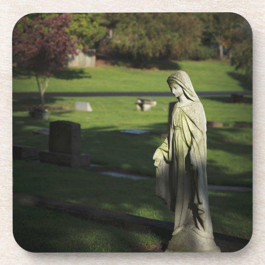 Oregon, Lake Oswego, Oswego Pioneer Cemetery Beverage Coaster