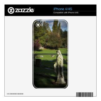 Oregon, Lake Oswego, Oswego Pioneer Cemetery Skin For The iPhone 4S