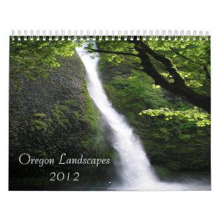 Oregon Landscapes 2012 Calendar