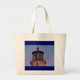 Oregon Lighthouse Tote Jumbo Tote Bag