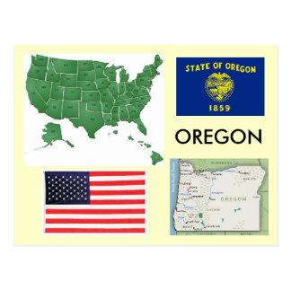 Oregon, los E.E.U.U. Postales