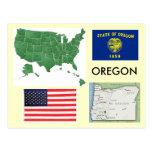 Oregon, los E.E.U.U. Tarjetas Postales