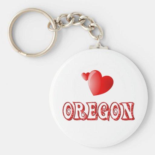 Oregon Love Keychains