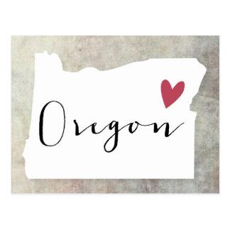 Oregon Map Postcards Zazzle