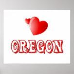 Oregon Love Print