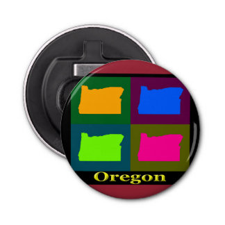 Oregon Map Bottle Opener
