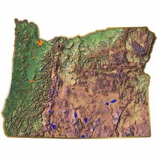 Oregon Map Magnet Cut Out