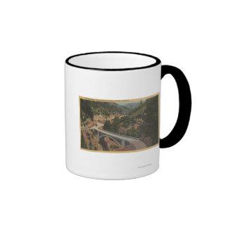 Oregon meridional - puente pionero, cala del barra taza