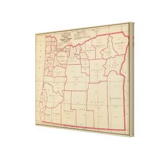 Oregon mfg, mechanical industries stretched canvas prints