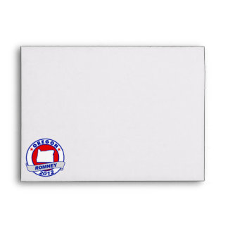 Oregon Mitt Romney Envelope
