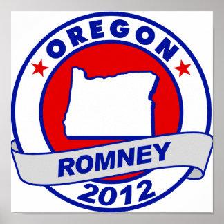 Oregon Mitt Romney Impresiones