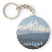 Oregon Mount Hood Photo Keychain