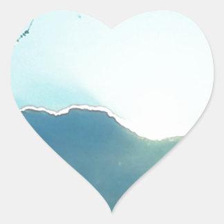 Oregon moutains heart sticker