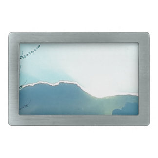 Oregon moutains rectangular belt buckle