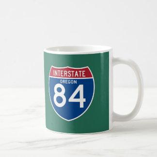Oregon OR I-84 Interstate Highway Shield - Coffee Mug