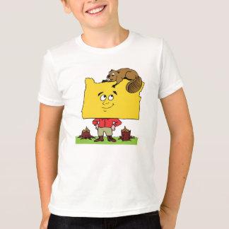 Oregon OR Oregonian Logger Lumberjack Souvenir T-Shirt
