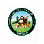 Oregon orgánico tarjetas postales