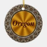 Oregon Ornamentos De Navidad