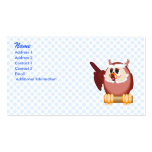 Oregon Owl Double-Sided Standard Business Cards (Pack Of 100)