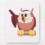 Oregon Owl Mouse Pad