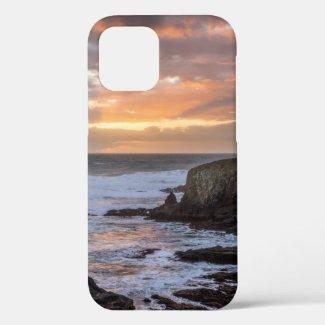 Oregon Pacific Ocean Sunset iPhone 12 Pro Case